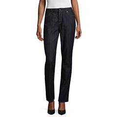 Liz Claiborne® Classic Fit Straight Jeans
