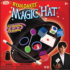 Ideal Ryan Oakes 75 Trick Magic Hat Set Unisex 15-pc. Dress Up Accessory
