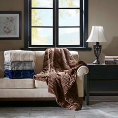 Premier Comfort Parker Plush Down Alternative Throw