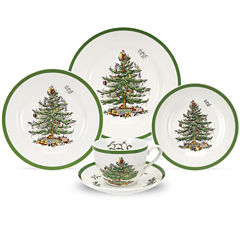 Spode® Christmas Tree 5-pc. Place Setting
