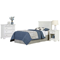 Walton Twin Headboard, Nightstand and Chest