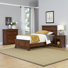 Newport Twin Bed Nightstand And Chest