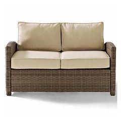 Crosley Bradenton Wicker Patio Lounge Chair