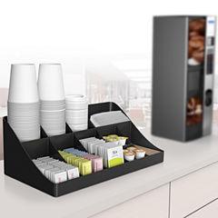 Mind Reader 13-Compartment Breakroom Coffee Condiment Organizer