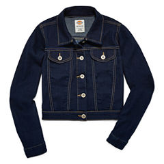 Dickies Girls Denim Jacket-Big Kid