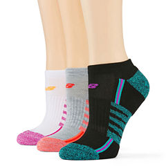 New Balance® 3-pk. No-Show Performance Socks