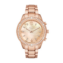 Relic Connected Eliza Womens Rose Goldtone Smart Watch-Zrt1002