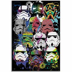 Star Wars Storm Trooper Canvas
