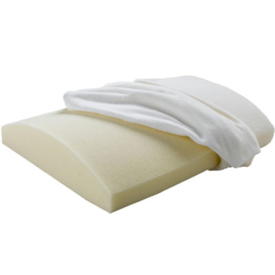 beautyrest memory foam lumbar travel pillow