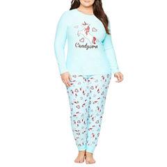 Sleep Riot Lush Sleep Pant Pajama Set - Plus