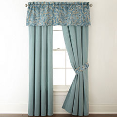 JCPenney Home Belcourt 2-Pack Rod-Pocket Curtain Panels