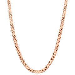 14K Gold Over Silver 18 Inch Chain Necklace