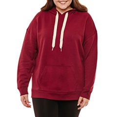 Flirtitude Sweatshirt-Juniors Plus