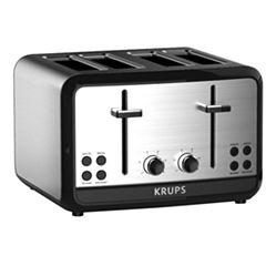 Krups®, Savoy, KH314050, 4-Slice Toaster, Stainless Steel