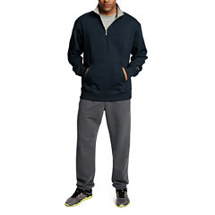 Champion Powerblend Fleece Quarter-Zip Pullover Athletic