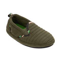Dearfoams Moccasin Slippers - Boys