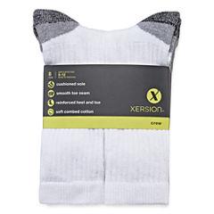 Xersion™ 8-pk. Crew Socks - Big & Tall