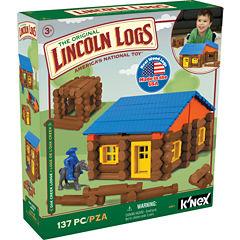 LINCOLN LOGS – Oak Creek Lodge – 137 Pieces - Ages 3+ - Preschool Education Toy
