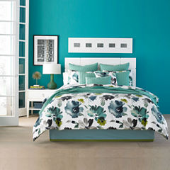 Q by Queen Street® Mia Floral Comforter Set