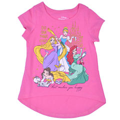 Disney Princess Beauty and the Beast Graphic T-Shirt-Toddler Girls