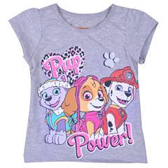 Nickelodeon Paw Patrol Graphic T-Shirt-Toddler Girls