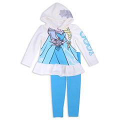 Disney Princess Frozen 2-pc. Pant Set Girls
