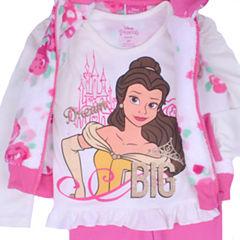 Disney Princess Beauty and the Beast 3-pc. Pant Set Girls