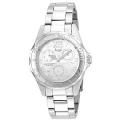Invicta Womens Silver Tone Bracelet Watch-21696
