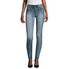 Ymi Denim Leggings-Juniors