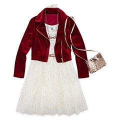 Knit Works Sleeveless Party Dress - Preschool Girls
