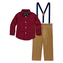IZOD® Herringbone Pants - Boys 8-20, Slim and Husky