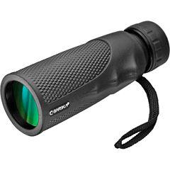 Barska 10X40 Blackhawk Monocular Bk7 Green Lens Black Aa12132