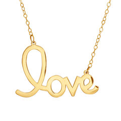 Limited Quantities! Womens 17 Inch 14K Gold Link Necklace
