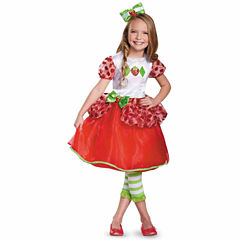 Strawberry Shortcake Deluxe Costume For Toddlers 2-4T