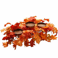 National Tree Co. 22 Inch Maple Candle Holder