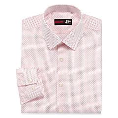 J.Ferrar Easy-Care Slim Fit Long Sleeve Dress Shirt
