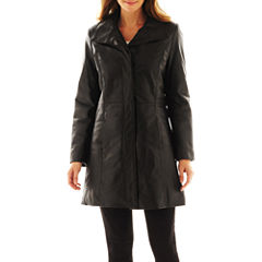 Excelled Leather Pencil Coat