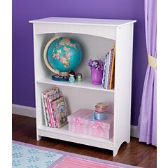 KidKraft® Nantucket 2-Shelf Bookcase - White