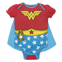 Caped Wonder Woman Bodysuit - Baby