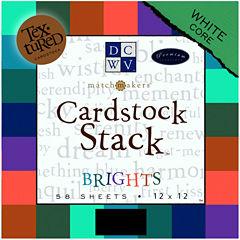 Textured Brights Cardstock Stack