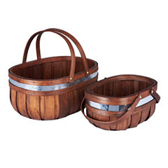 Household Essentials Market 2-pc. Basket
