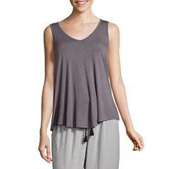 Ambrielle Short Sleeve Pajama Top