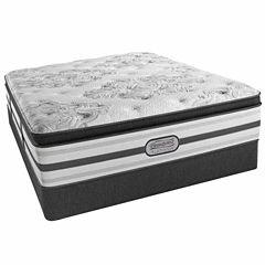 Simmons® Beautyrest® Platinum® McNeil Pillow-Top Plush Mattress + Box Spring