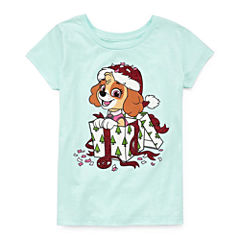 Paw Patrol Graphic T-Shirt-Big Kid Girls