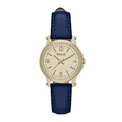 Relic® Ladies Navy Zr34349 Strap Watch