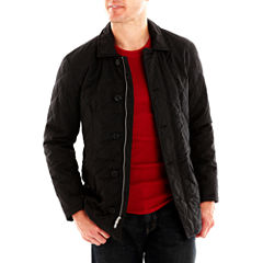 Excelled Quilted Car Coat