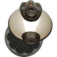 Euro-Cuisine® Heart Shaped Waffle Maker WM520