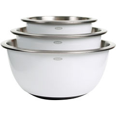 OXO® Good Grips® 3-pc. Stainless Steel Mixing Bowl Set