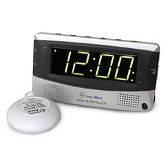 Sonic Alert SA-SBD375SS Sonic Boom Dual Alarm Clock with Super Shaker