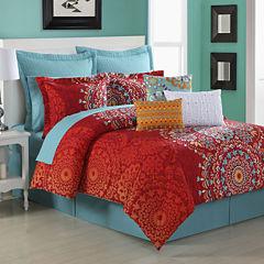 Fiesta Cozumel Reversible Comforter Set